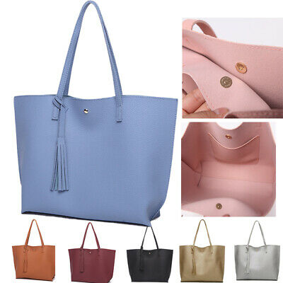 Women Designer Shoulder Bag Tote Large Handbag Office Ladies Bags PU Leather