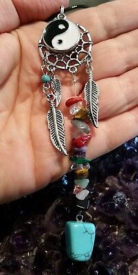 Wow - New Style Handcrafted Dreamcatcher & Turquoise Gemstone Pendant
