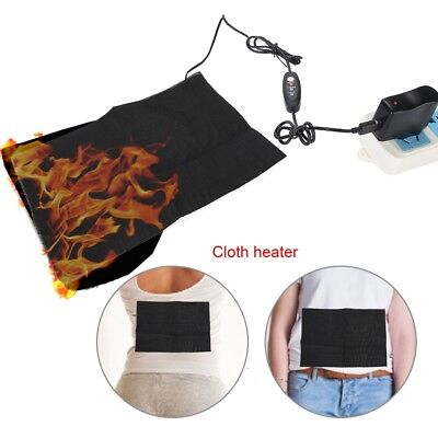 5V USB Electric Cloth Heater Pad Heating Mat for Man Body Waist Belly Massaging