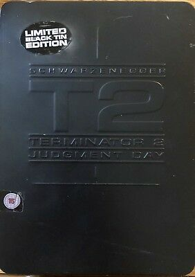 Terminator 2 T2 Judgment Day Limited Black Tin Edition (Official UK DVD)