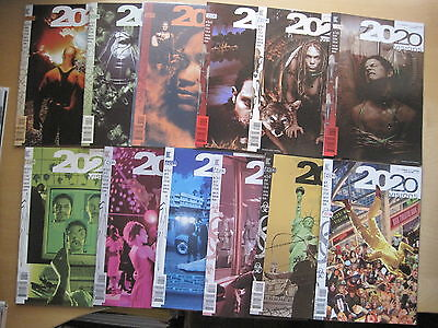 2020 VISIONS :COMPLETE CLASSIC 12 ISSUE SERIES by DELANO,QUITELY.DC VERTIGO.1997