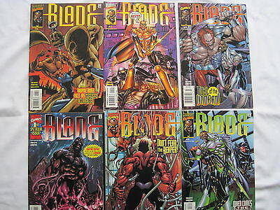BLADE : COMPLETE 6 ISSUE SERIES by SEARS & SMITH. GORY BUT GREAT! MARVEL. 1999