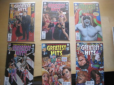 GREATEST HITS : COMPLETE 6 ISSUE SERIES by TISCHMAN & GLEN FABRY.DC VERTIGO.2006