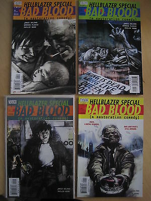 "Hellblazer Special : ""bad Blood"": Complete 4 Issue Constantine 2000 Dc Series"
