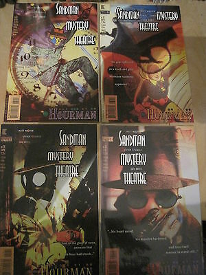 """SANDMAN MYSTERY THEATRE #s 29,30,31,32 """"The HOURMAN"""" : COMPLETE STORY. DC. 1995"""
