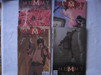 The Mummy : The Rise & Fall Of Xango's Ax : Complete  4 Issue Series. Idw.2008