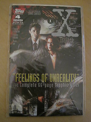 THE X FILES SPECIAL EDITION # 4. COMPLETE 66pg GRAPHIC NOVEL. MULDER. TOPPS.1996