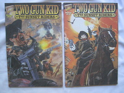 Two Gun Kid - The Sunset Riders : Complete Prestige 2 Issue Series. Marvel. 1995
