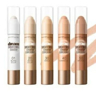 MAYBELLINE Dream Brightening Creamy Booster/Concealer 3g - CHOOSE- NEW Sealed