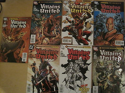 Villains United : Complete 6 Issue Infinite Crisis Series + Special #1. Dc. 2005