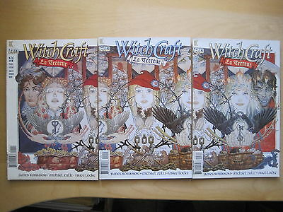 WITCHCRAFT La TERREUR :COMPLETE 3 ISSUE SERIES by ROBINSON,ZULLI.DC VERTIG0.1998