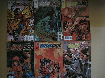 WILD GIRL : COMPLETE 6 ISSUE SERIES by LEAH MOORE & JOHN REPPION. WILDSTORM.2004