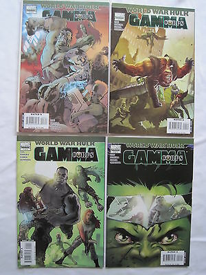 "World War Hulk : ""gamma Corps"" : Complete 4 Issue Series. Marvel.2007"