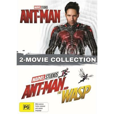 Ant-Man / Ant Man and the Wasp DVD double pack R4