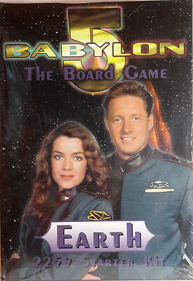 Babylon 5 Component Boxed Game- EARTH Starter Set-Sealed- Out of Print