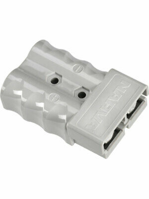 Narva Heavy-Duty 350 Amp Connector Housing Grey with Copper Terminal (57230BL)