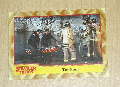 """2018 Topps Stranger Things WAFFLE parallel """"The Body"""" #47 3/11"""
