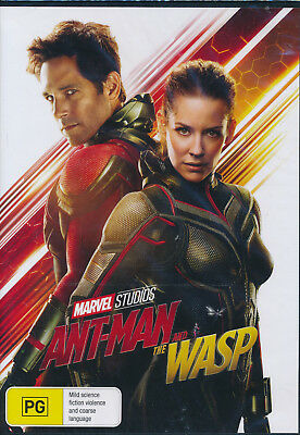 Ant-Man And The Wasp DVD NEW Region 4
