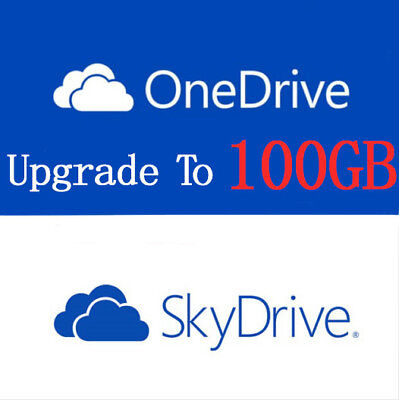 ONEDRIVE 100GB Space Upgrade Your Account Upgrade By Samsung Valid for Two Years