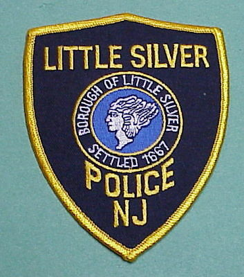 Little Silver  New Jersey  Nj  Settled 1667   Police Patch   Free Shipping!!!