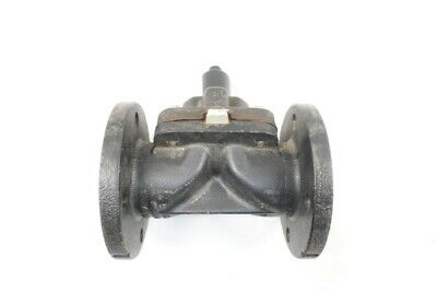 Saunders 16 Manual Iron Flanged 2-1/2in Diaphragm Valve