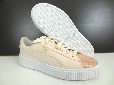 100 NEW PUMA Basket Platform Canvas Sparkle Toe Women s Sneakers Shoes Sz  5.5 d0cc3a7c8