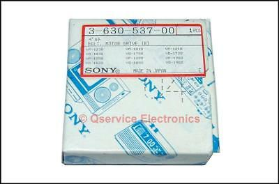 Sony 3-630-537-00 Genuine Rubber Drive Belt VO-1800 Umatic Recorders NOS Boxed