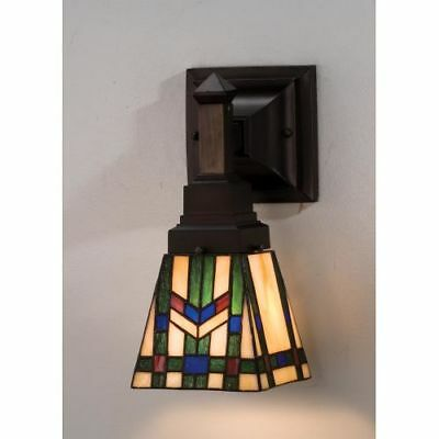 Meyda Tiffany 25894 Tiffany Glass Stained Glass / Tiffany Down Lighting Sconce