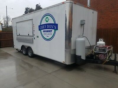 2013- 20'X8.5' Food/Concession Trailer