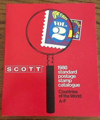 Scott 1980 Standard Postage Stamp Catalogue Vol 2 - Countries Of The World A-F