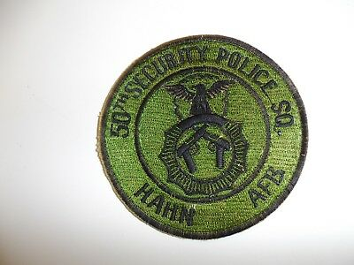 e1874 1970's US Air Force 50th Security Police Squadron Hahn AFB Germany IR16C