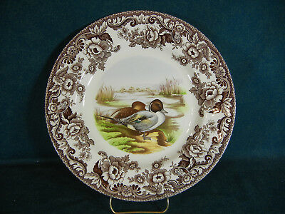 Spode Woodland Dinner Plate - Lapwing and Pintail Patterns