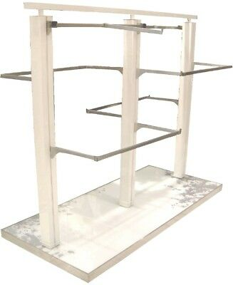Used clothing 4 arms box rack