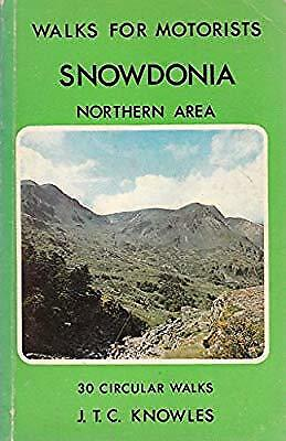 Snowdonia-Northern Area Walks For Motorists(24) (Walks for motorists series: War