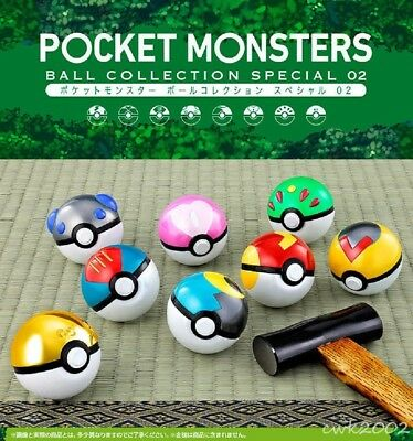 [PSL] Premium Bandai Ltd Pocket Monsters POKEMON POKE BALL COLLECTION SPECIAL 02