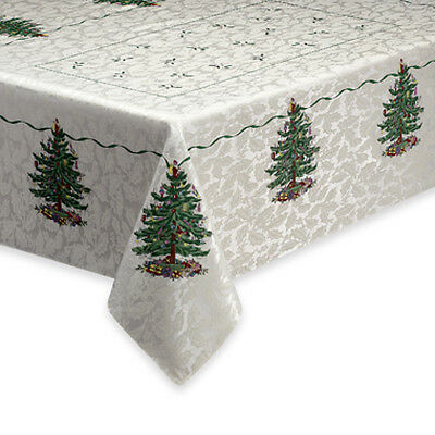 Spode Christmas Tree holiday TABLECLOTH Rectangular New Pack