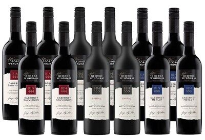 George Wyndham Red Mixed Pack (12 x 750mL)