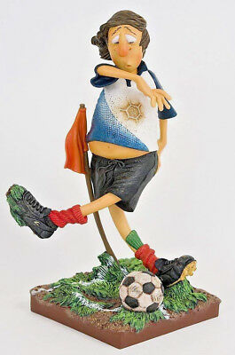 The Football Player  Sculpture Guillermo Forchino ~ Hand Made Detailed & Painted
