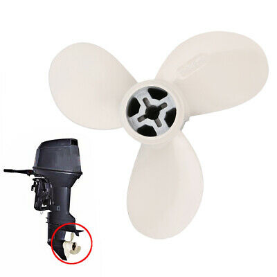 Marine Boat Motor Propeller 7 1/4X5-A For Yamaha 2 Stroke 2HP  Outboard  White