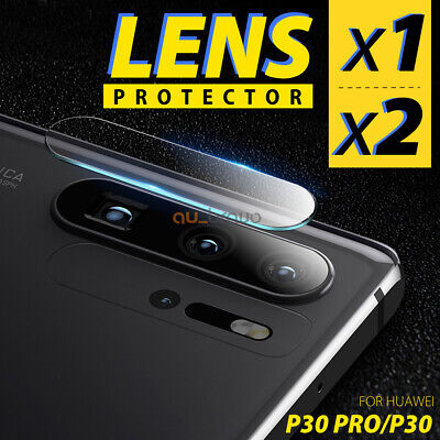 1x 2x Huawei Mate 20 / 20 Pro Back Camera Lens Tempered Glass Screen Protector