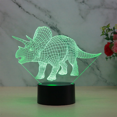 3D Lamp Child Gift Table Night Light  7 Color Change LED Touch Control Bedroom