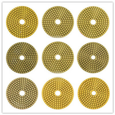 1 Pcs 4 Granite Marble Diamond Polishing Pad Wet/dry Grinding Disc Marble Concre