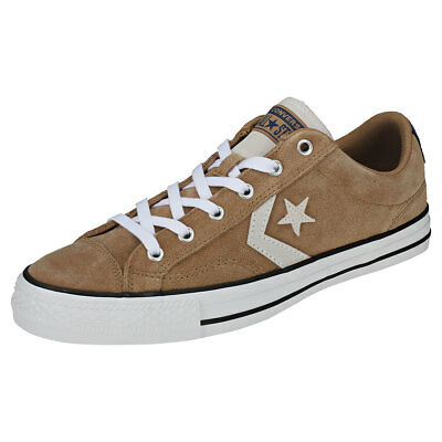 6837e1061bf297 CONVERSE STAR PLAYER Ox White Athletic Navy Mens Trainers Unisex New ...