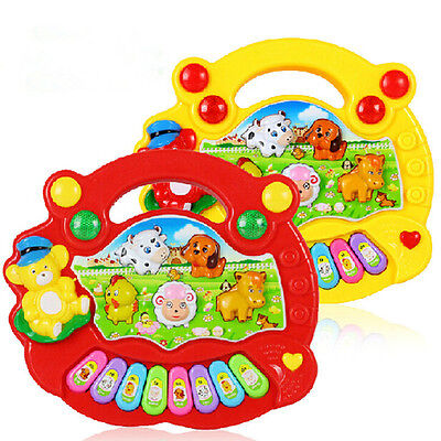 Baby Kids Musical Educational Animals Farms Pianos Developmental Music Toys US