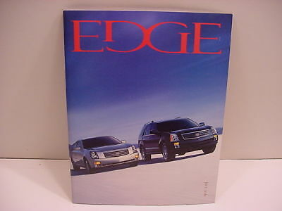 July 2004 General Motors (GM) DEALERS ONLY had THE EDGE Magazine! (Corvette)