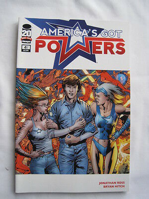 AMERICA'S GOT POWERS  4. By JONATHAN ROSS & BRYAN HITCH.  IMAGE  2012