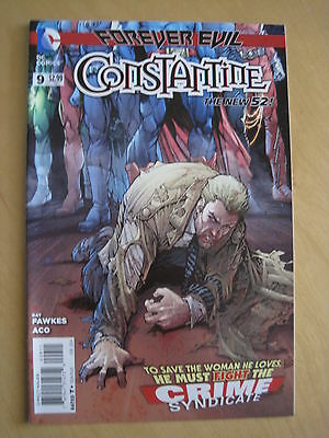 CONSTANTINE # 9. 1st PRINT. THE NEW 52. HELLBLAZER. DC. 2013