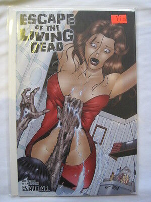 """ESCAPE of the LIVING DEAD 2 """"DEFROCKED"""" COVER by WOLFER,RUSSO, VERMA.AVATAR 2005"""