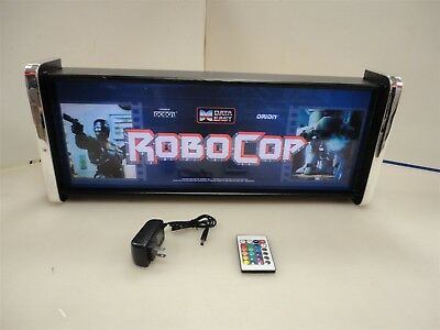 Robocop Marquee Game/Rec Room LED Display light box