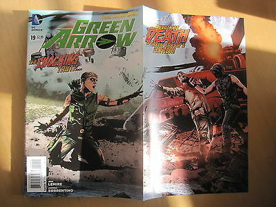 GREEN ARROW  19. Gatefold Cover.  DC THE NEW 52. 2013